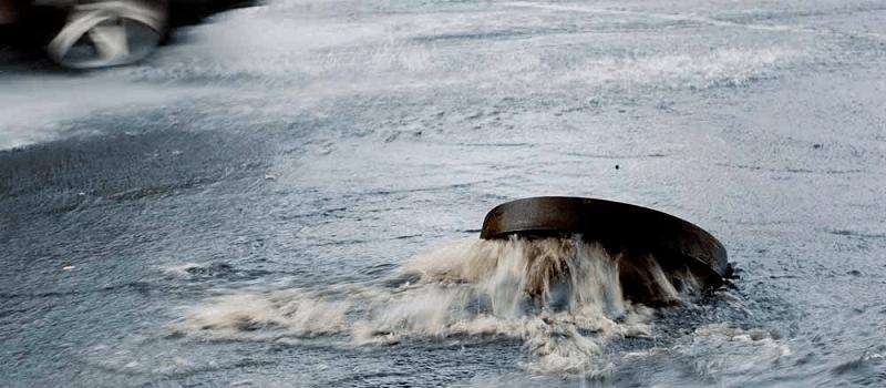 Stoppet kloak - Oversvømmet kloaksystem