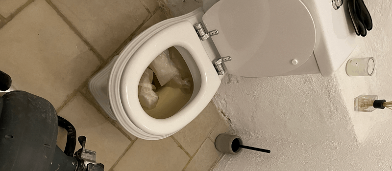 Stoppet toilet - Døgnservice kloakservice