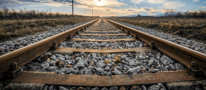 Jernbanespor - Vanding af skærver